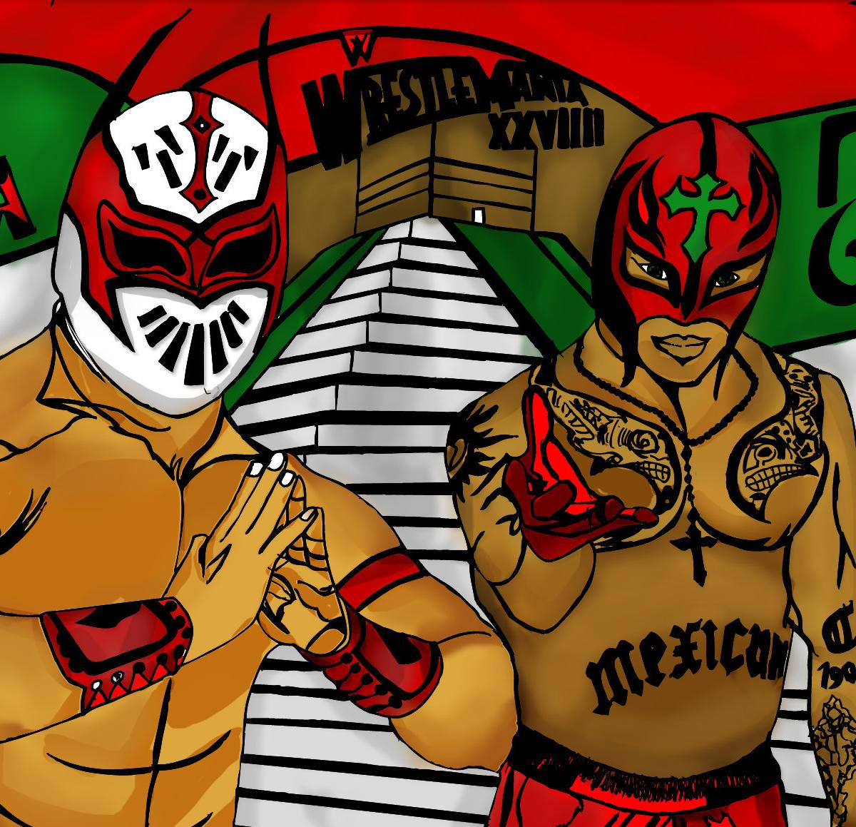 Wwe Analysis Could Sin Cara Turn On Rey Mysterio Bleacher Report