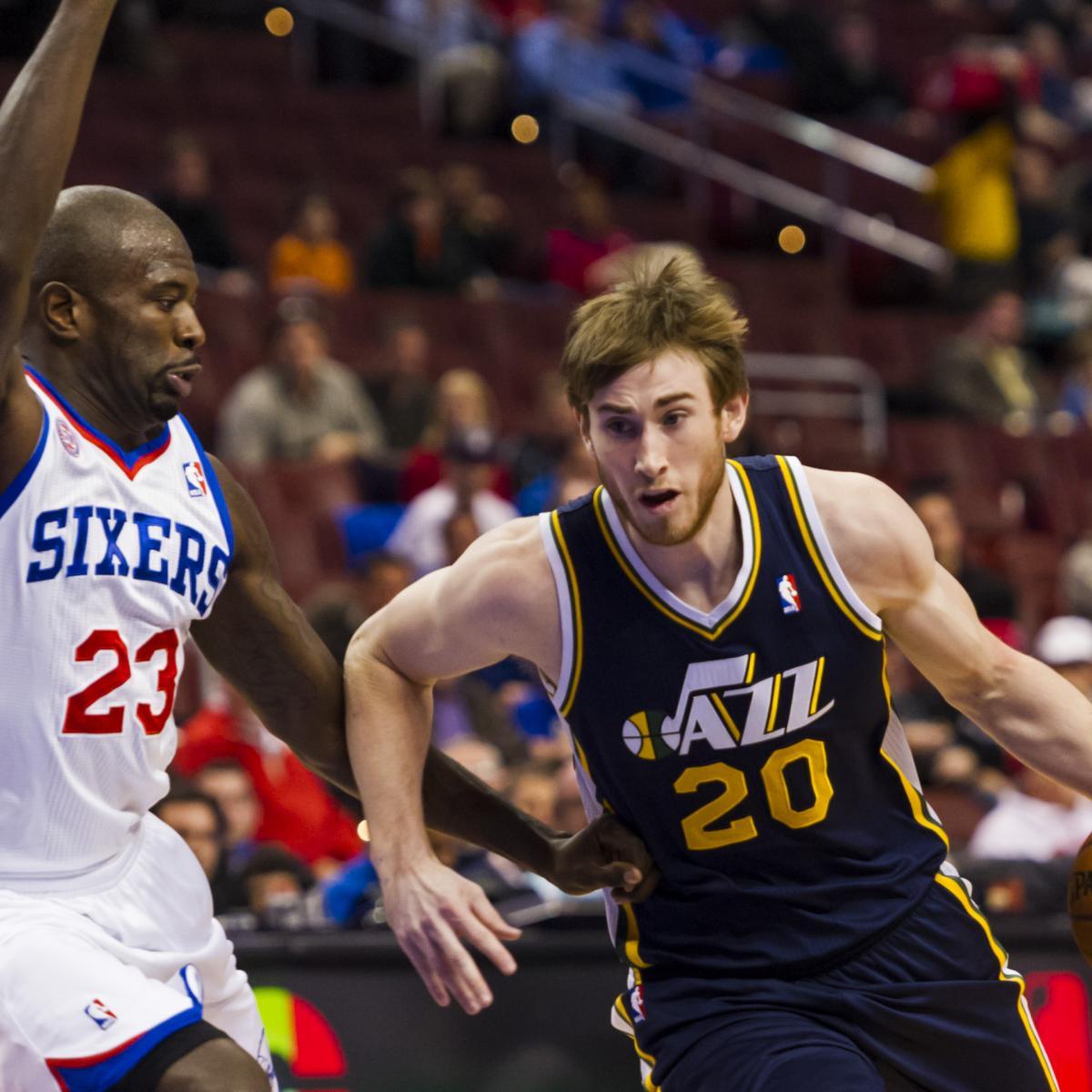 72142d9e5 Does Utah Jazz s Gordon Hayward Have a Future as an NBA Starter ...