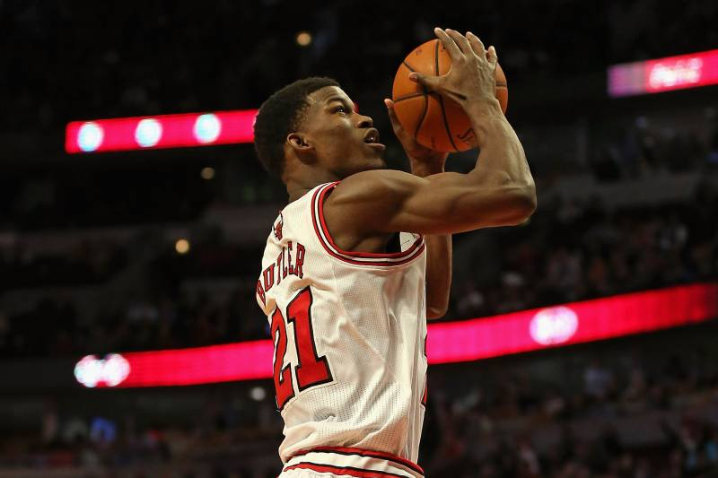 53bebea5608b Rip Hamilton Injury Gives Jimmy Butler Chance to Show Bulls