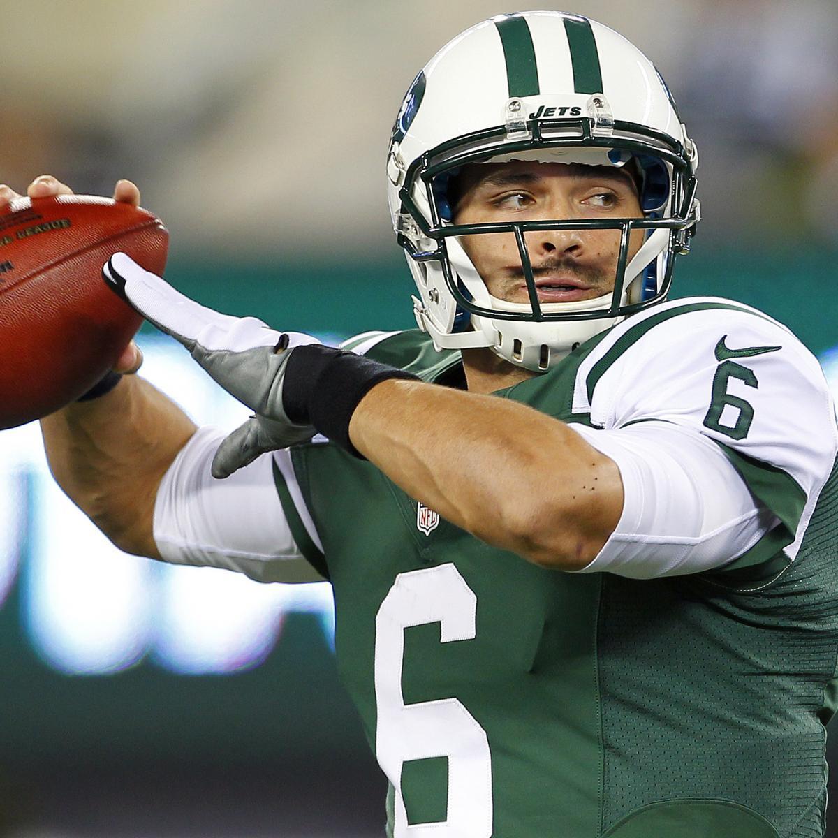 NY Jets quarterback Mark Sanchez says hes not concerned