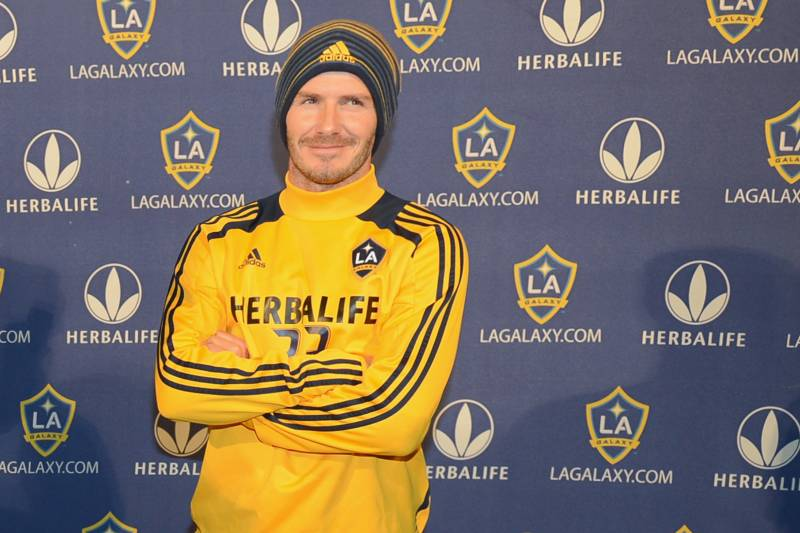 0ab2360f96a CARSON, CA - NOVEMBER 20: David Beckham of England announces his departure  from the