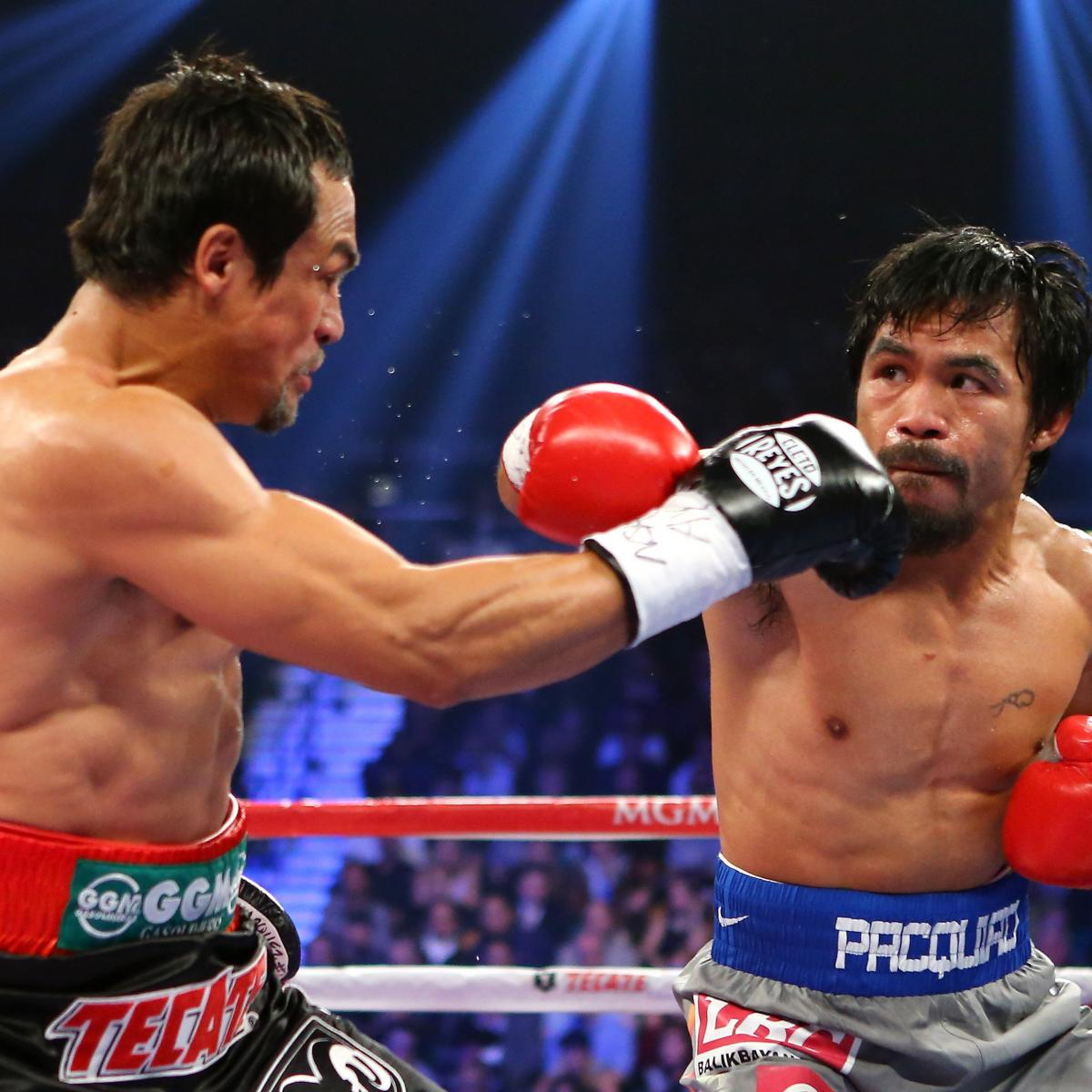 Pacquiao Vs. Marquez 4: Live Round-by-Round Results And