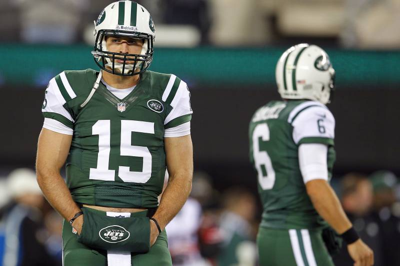 low priced 356be 9ed07 Rounding Up Reaction to Mark Sanchez, Tim Tebow and Jets' QB ...