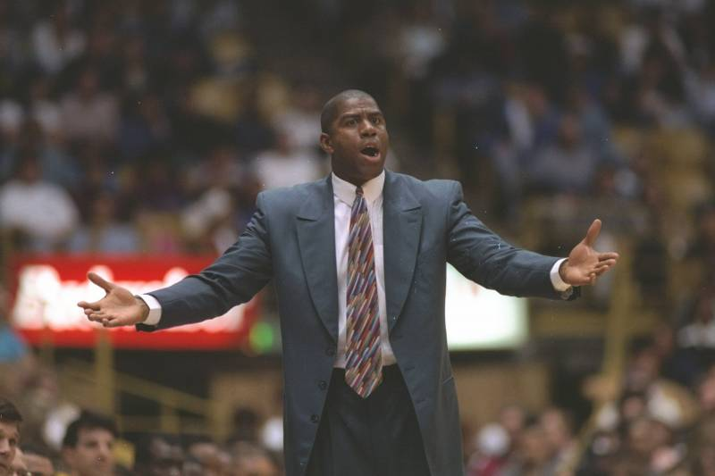 Image result for magic johnson coach