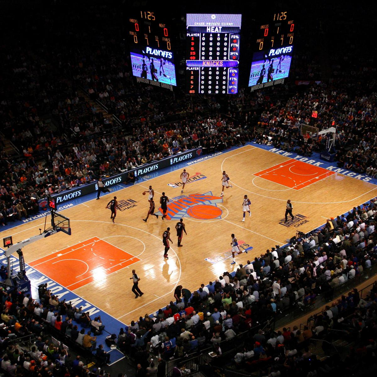 New York Knicks Why Madison Square Garden Is Nba S Best
