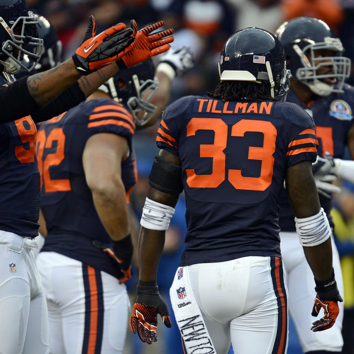 sports shoes 6ee7d 0de54 Chicago Bears Break out Throwback Jerseys for Week 15 ...