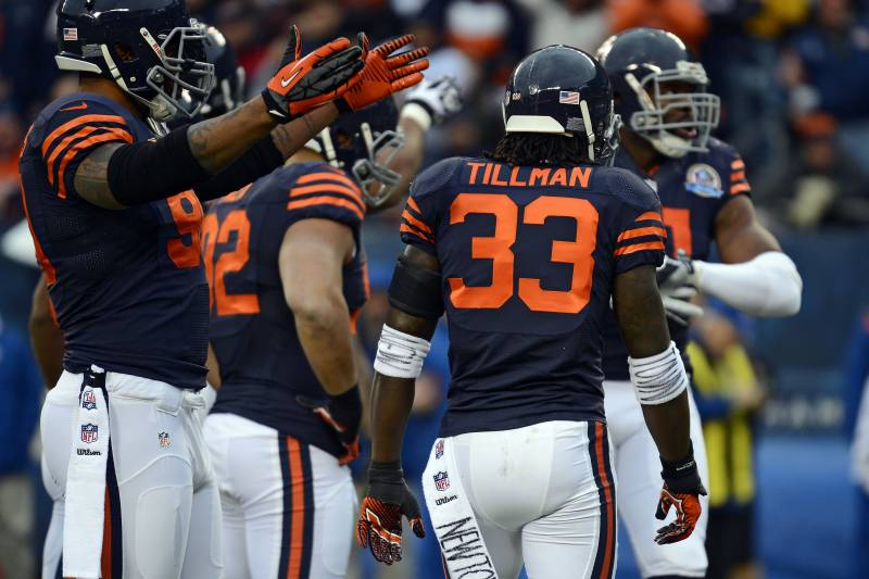 sports shoes ab17a a1f88 Chicago Bears Break out Throwback Jerseys for Week 15 ...
