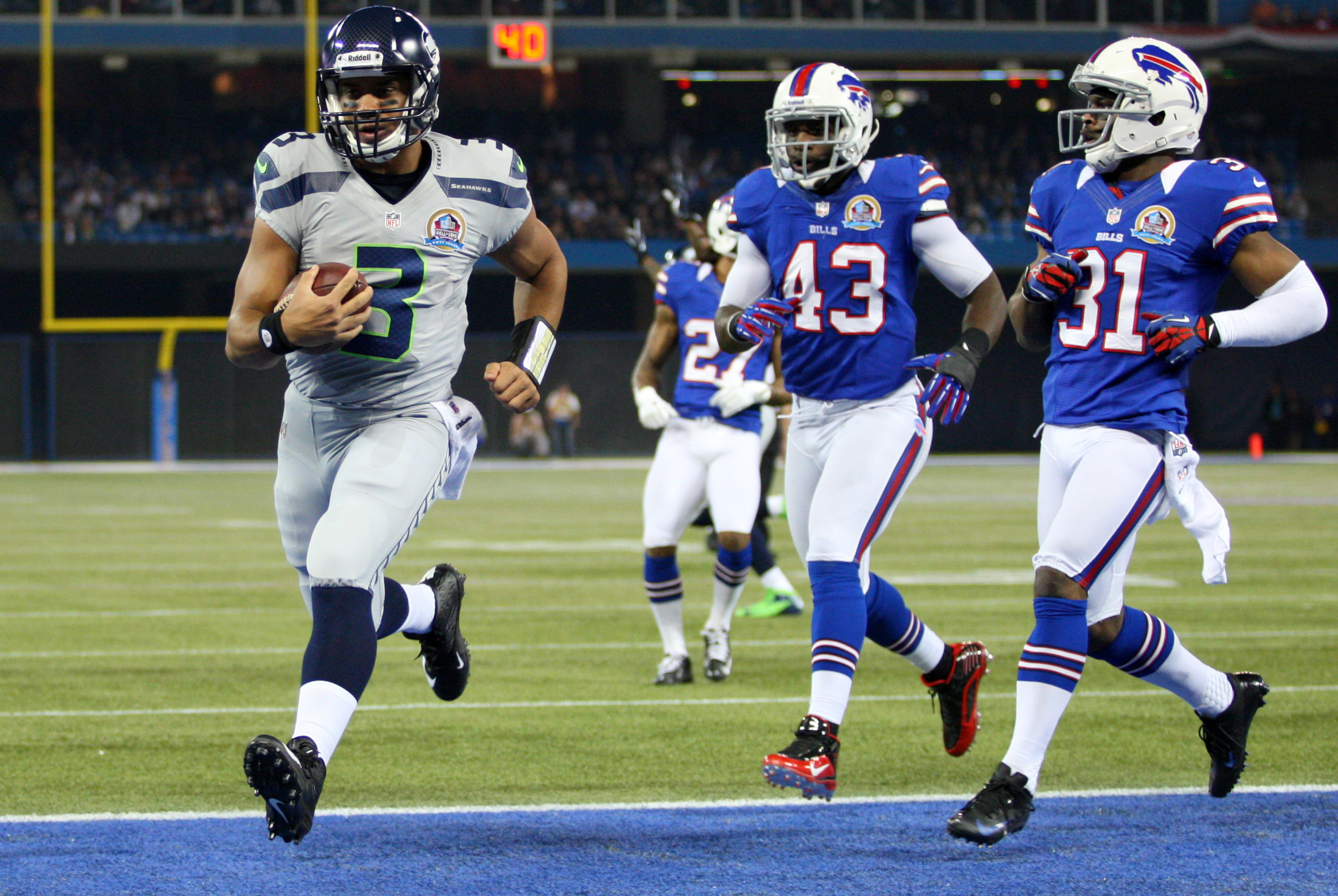 Seahawks vs. Bills: Seattle's Use of the Zone-Read Option Opened the Flood  Gates | Bleacher Report | Latest News, Videos and Highlights