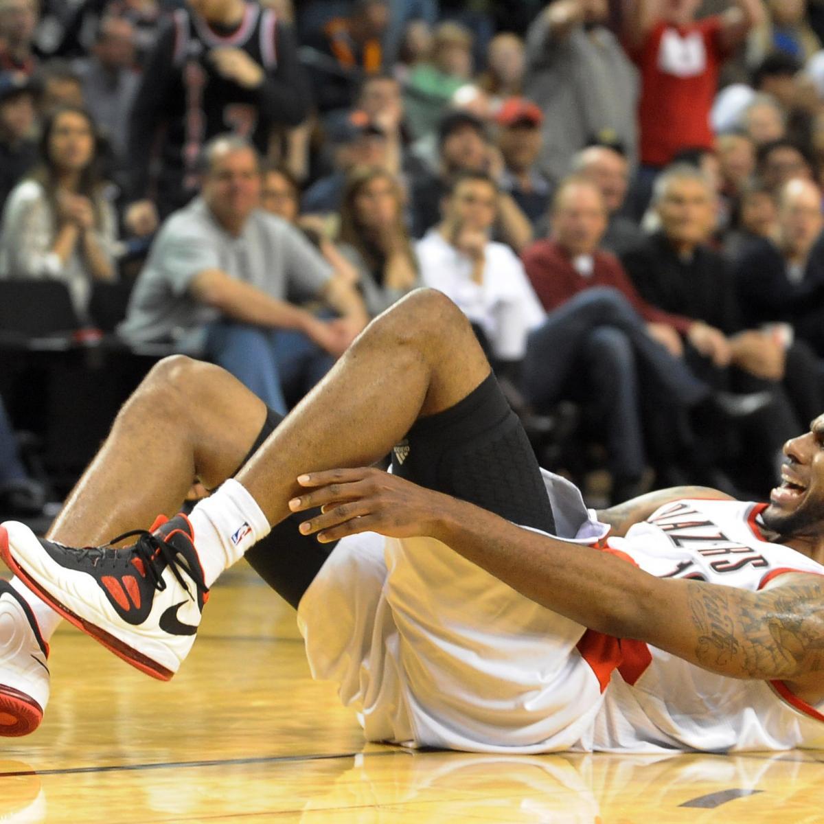 Portland Trail Blazers Injury News: LaMarcus Aldridge: Updates On Trail Blazers Forward's