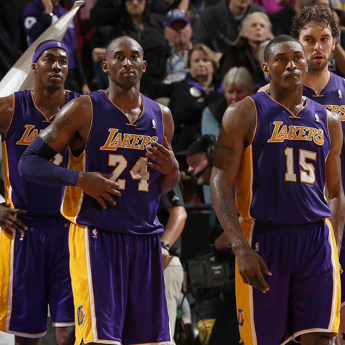 Handicapping L.A. Lakers Players' Odds Of Making The 2013