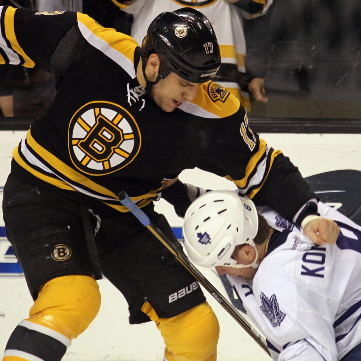Boston Bruins: 5 Best Fights of 2012 (Video) | Bleacher ...Bruins Bleacher Report