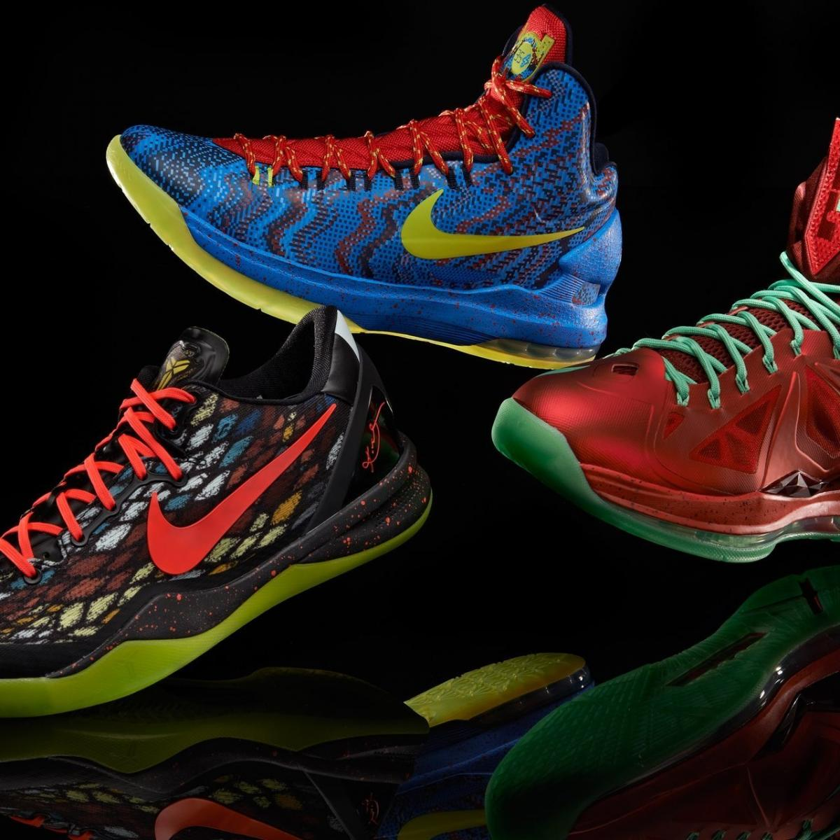 b81b33aebce Nike Christmas Day Shoes 2012  Ranking the Best Footwear of the Holiday