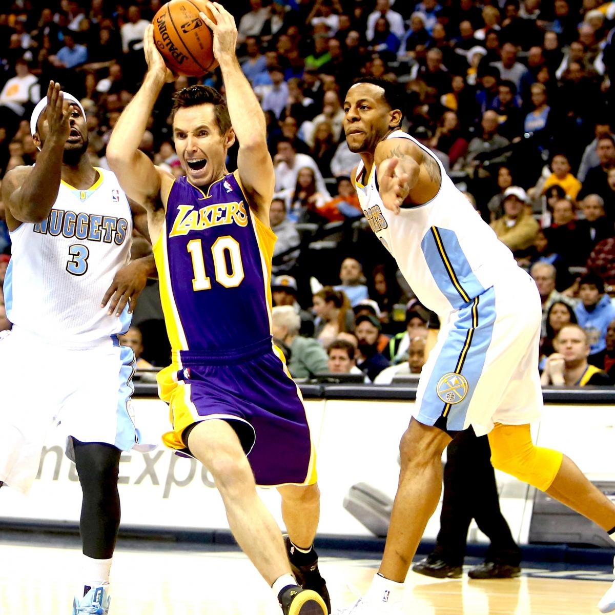 Los Angeles Lakers Vs. Denver Nuggets: Live Score, Results