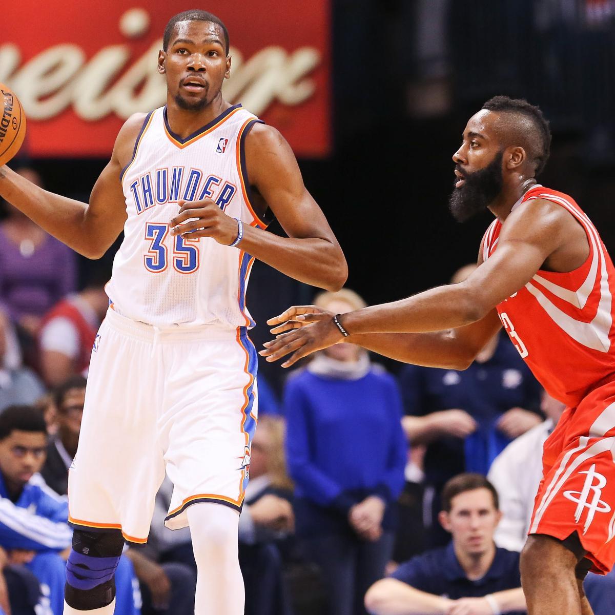 Houston Rockets Vs Oklahoma City Thunder: Oklahoma City Thunder Vs. Houston Rockets: Live Score