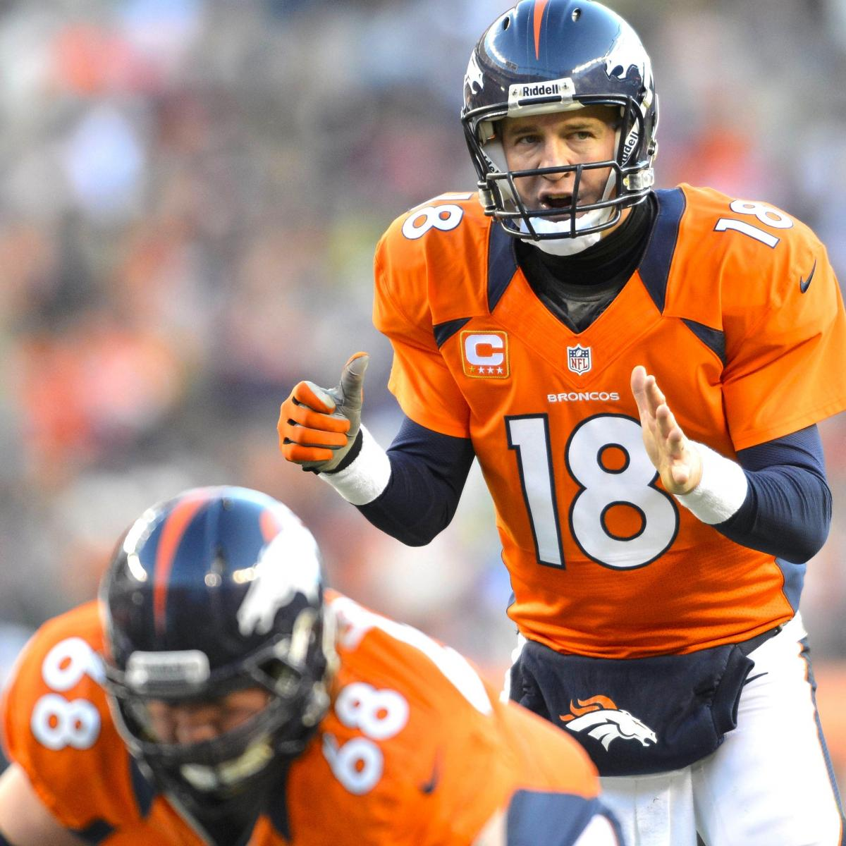 Denver Broncos Hammer Kansas City Chiefs 38-3, Clinch No