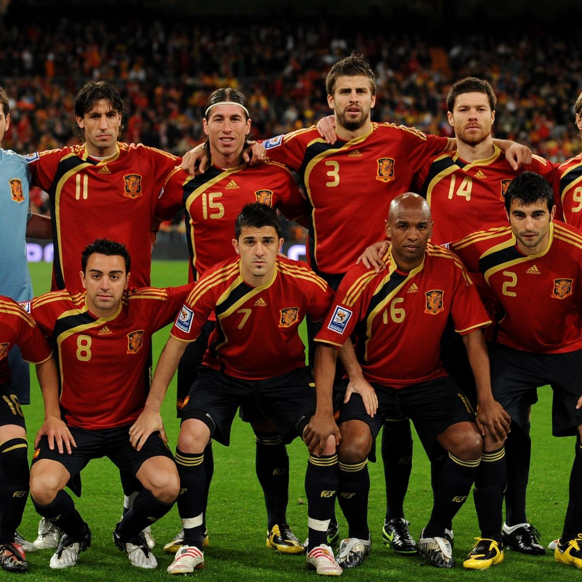 Starting Picking a XI and Without Spain Barcelona  Real