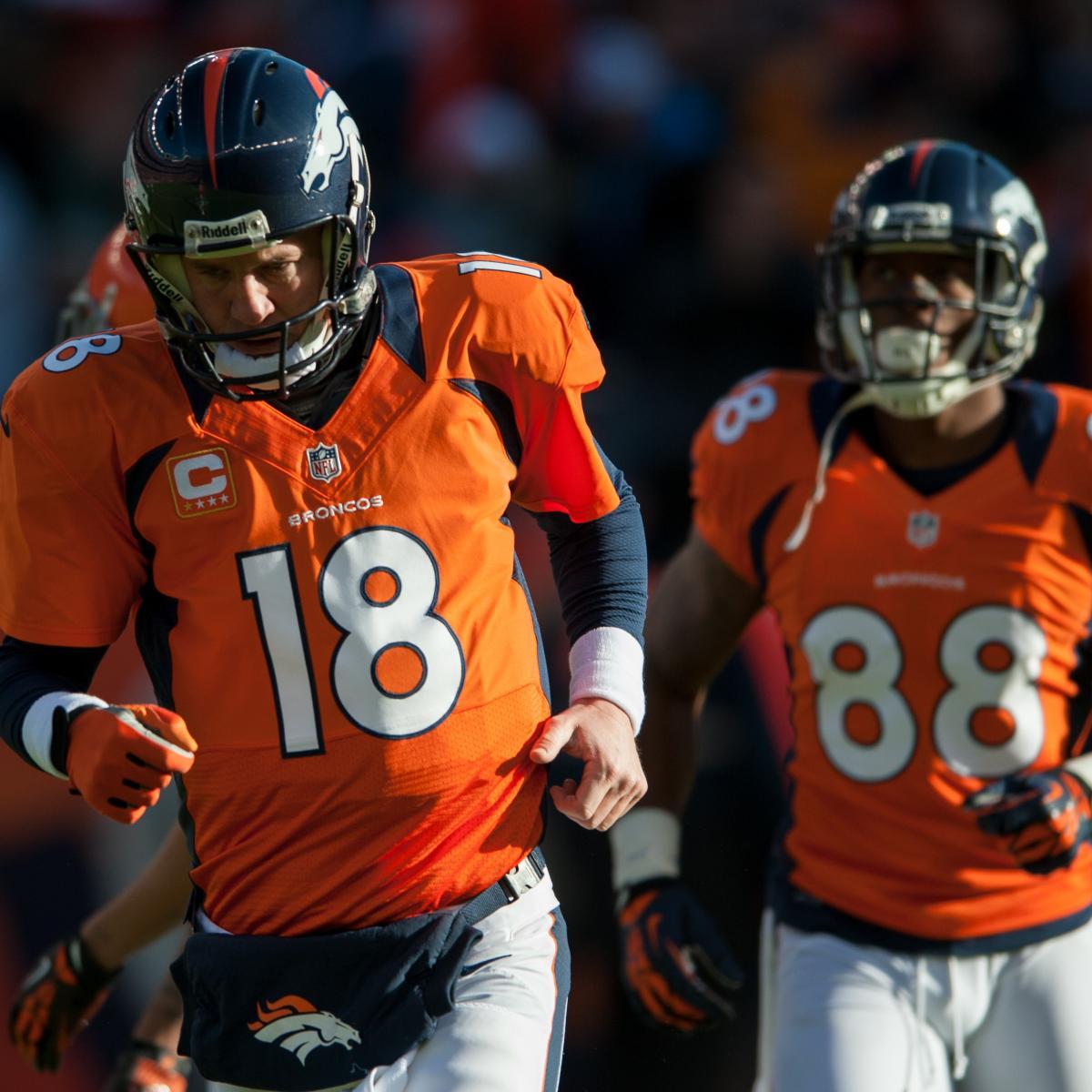 San Diego Chargers Denver Broncos Score: Grading Every Denver Broncos Starter's 2012 Regular Season