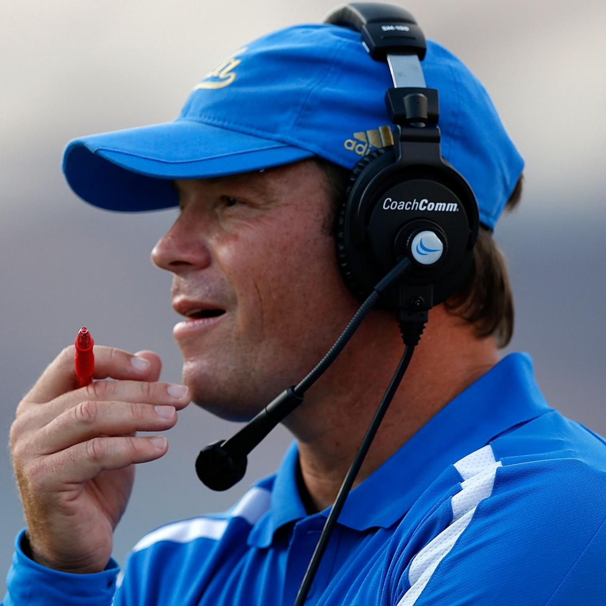 San Diego Chargers Head Coaches: UCLA Head Coach Jim Mora Has Been Contacted By The San