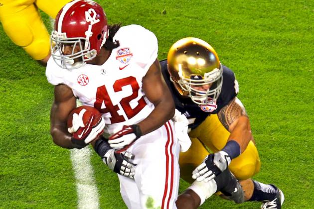 Alabama vs Notre Dame: BCS Title Game Proved We Need a College Football  Playoff | Bleacher Report | Latest News, Videos and Highlights