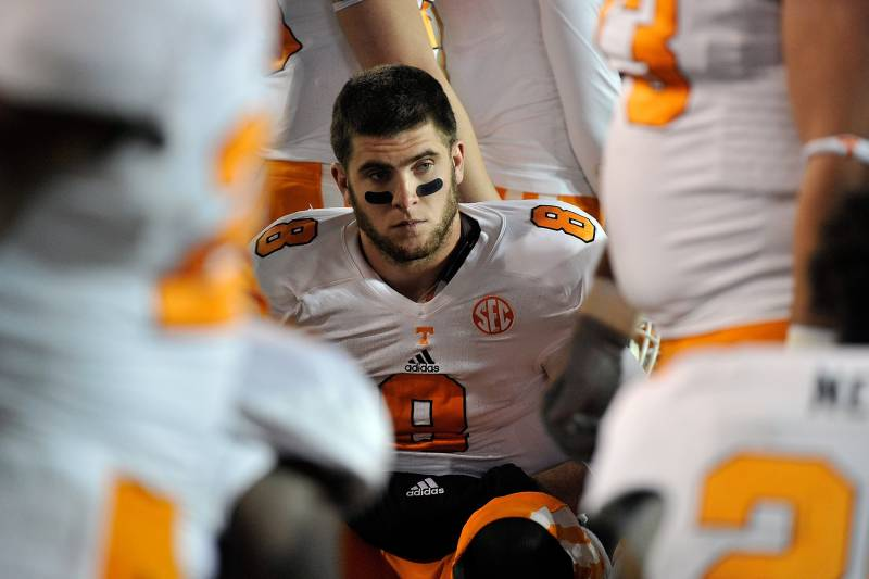 competitive price cace2 28c2c 2013 NFL Draft: Why Tyler Bray Will Fail in the NFL ...
