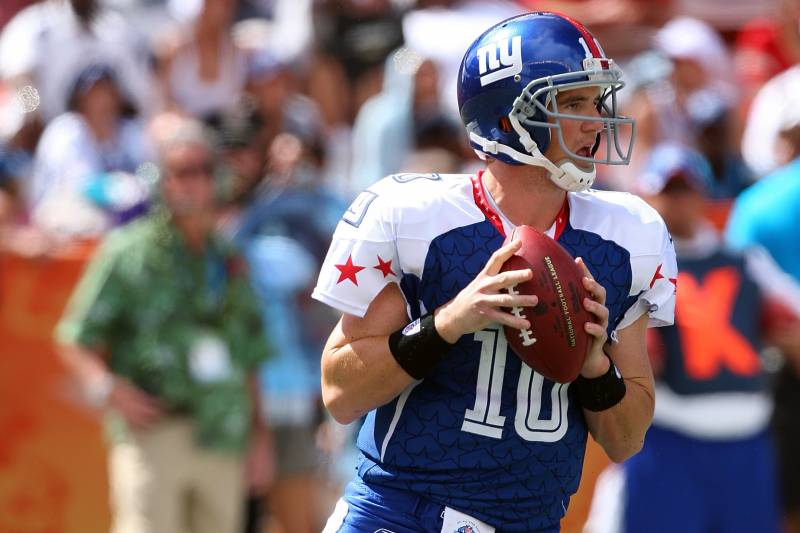 sports shoes f80df 50378 New York Giants: Is Eli Manning Deserving of His Spot in the ...