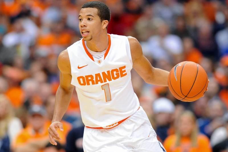 factory price 23ca7 9d042 Syracuse Basketball: Michael Carter-Williams' Mid-Season NBA ...