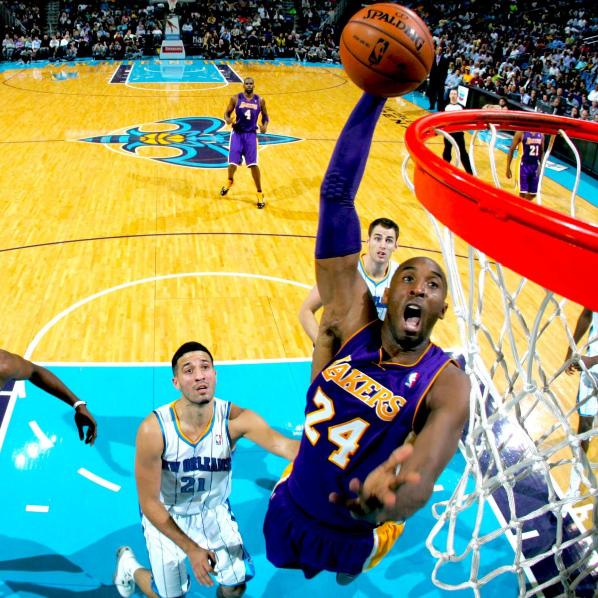 New Orleans Hornets Vs. LA Lakers: Live Score, Results And