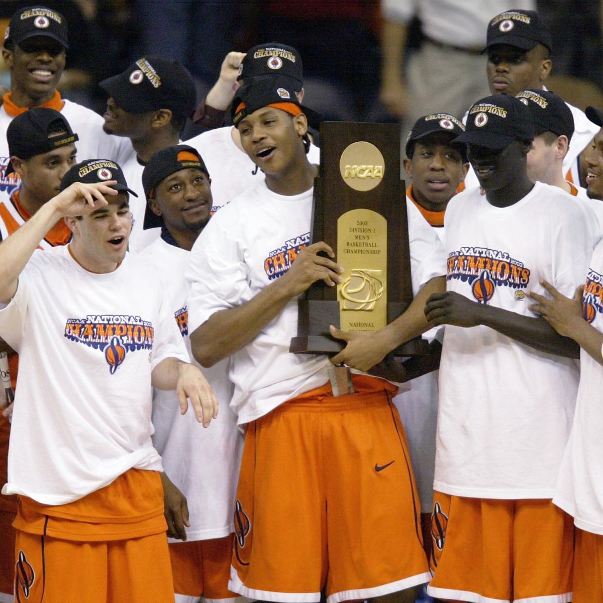 e085931a7f1 Syracuse Basketball: Carmelo Anthony and the 10 Best Freshmen in Orange  History | Bleacher Report | Latest News, Videos and Highlights