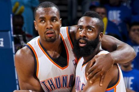 new concept 2f577 68d89 Oklahoma City Thunder Were Right to Choose Serge Ibaka over ...