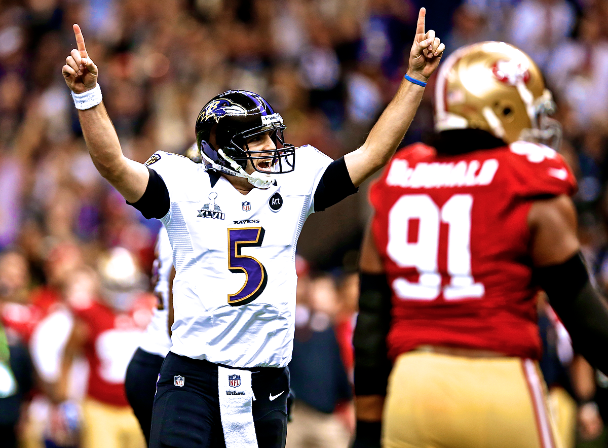 new product 8b304 57a6c Joe Flacco Proves He Is Elite QB with Brilliant End to ...
