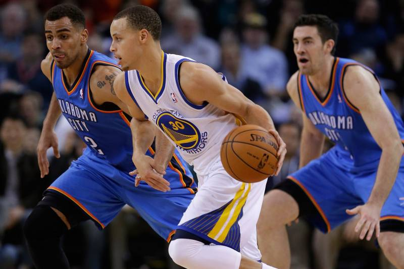 best service 5dd6d e3b6f Warriors vs. Rockets: Stephen Curry vs. Jeremy Lin Is Key ...