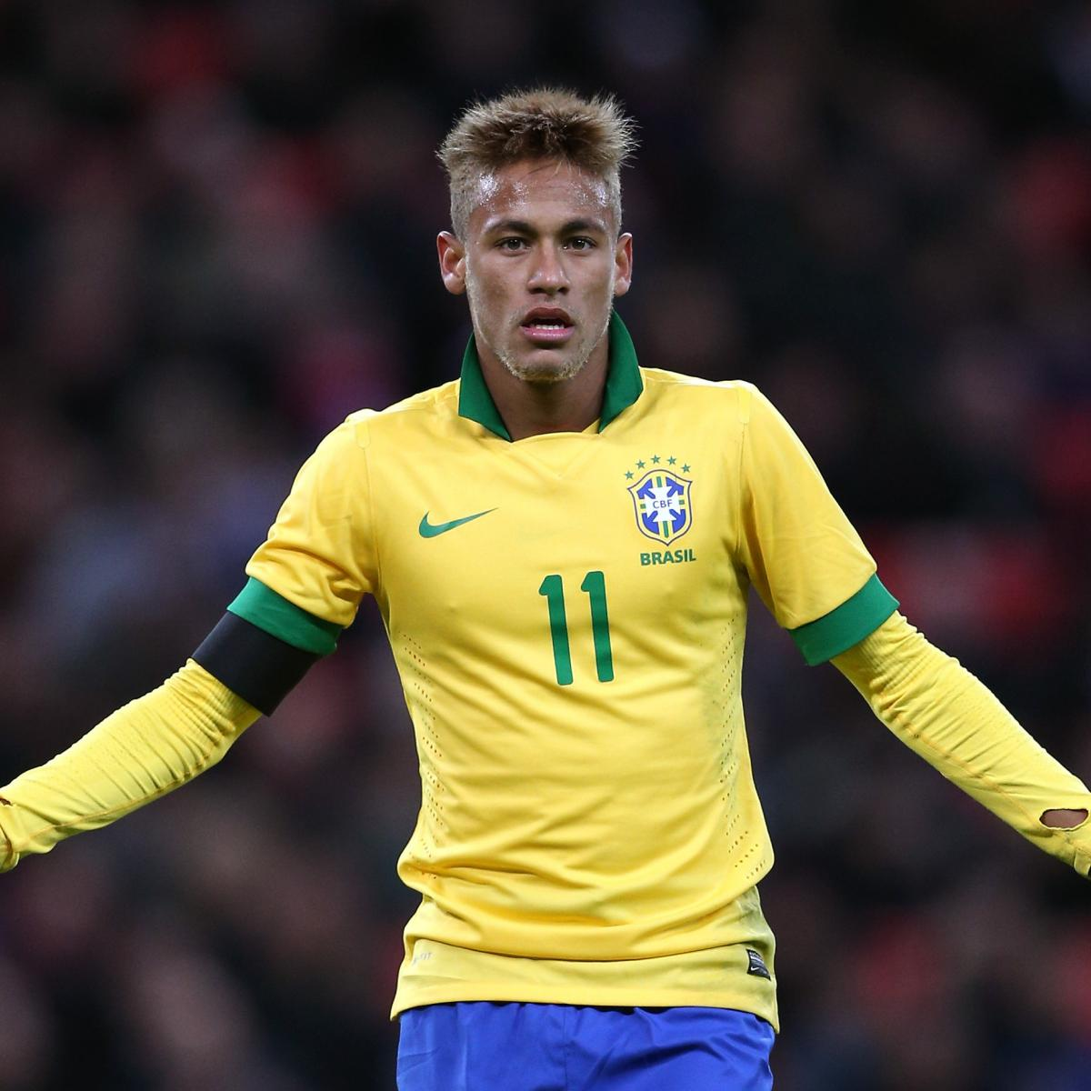 Neymar And Lucas Moura: Neymar: Reviewing His Performance For Brazil Against
