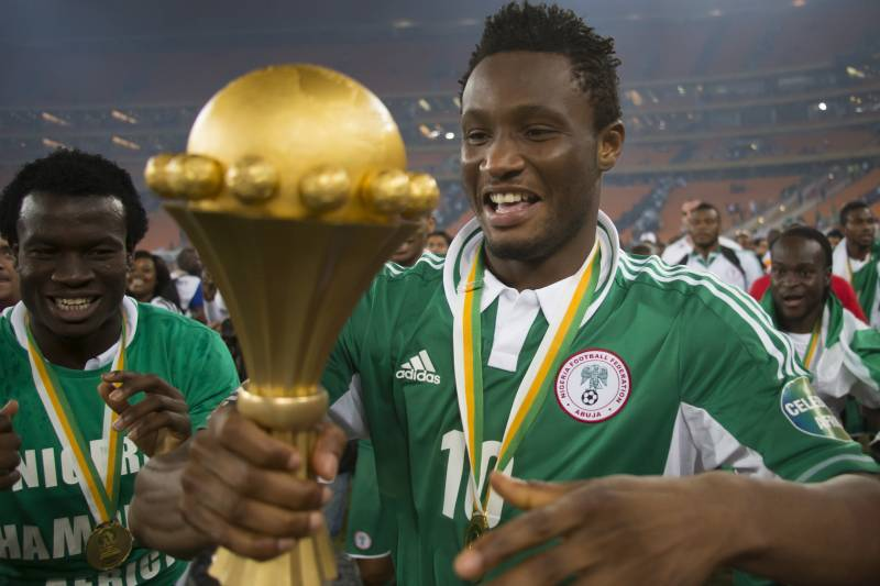 Image result for mikel afcon 2013