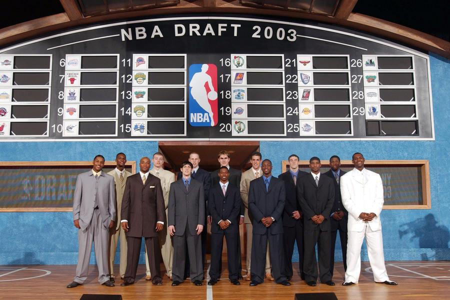 how the 2003 nba draft class changed the nba forever