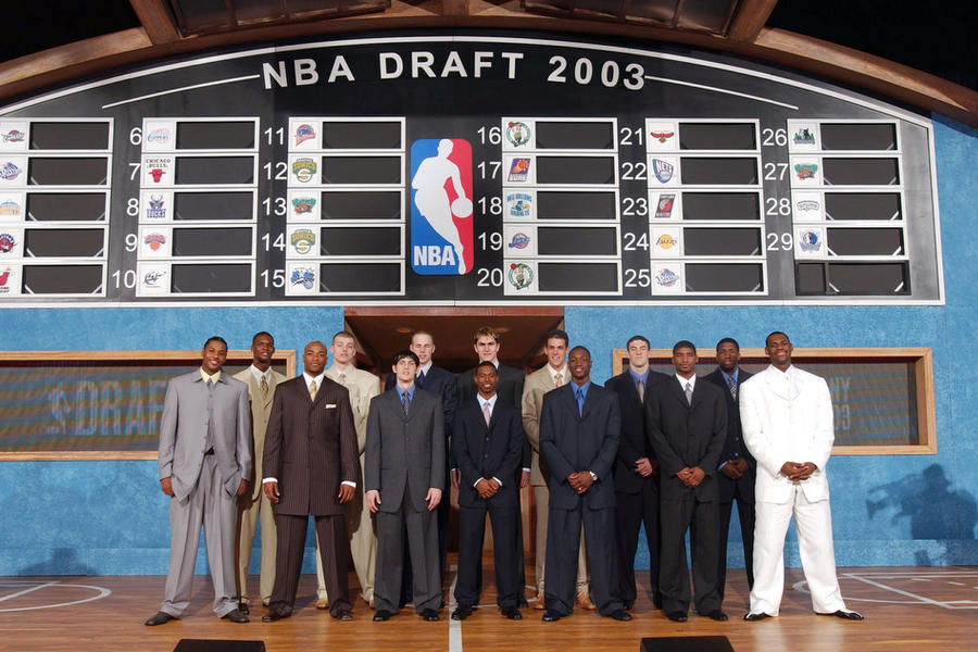 How the 2003 NBA Draft Class Changed the NBA Forever | Bleacher ...