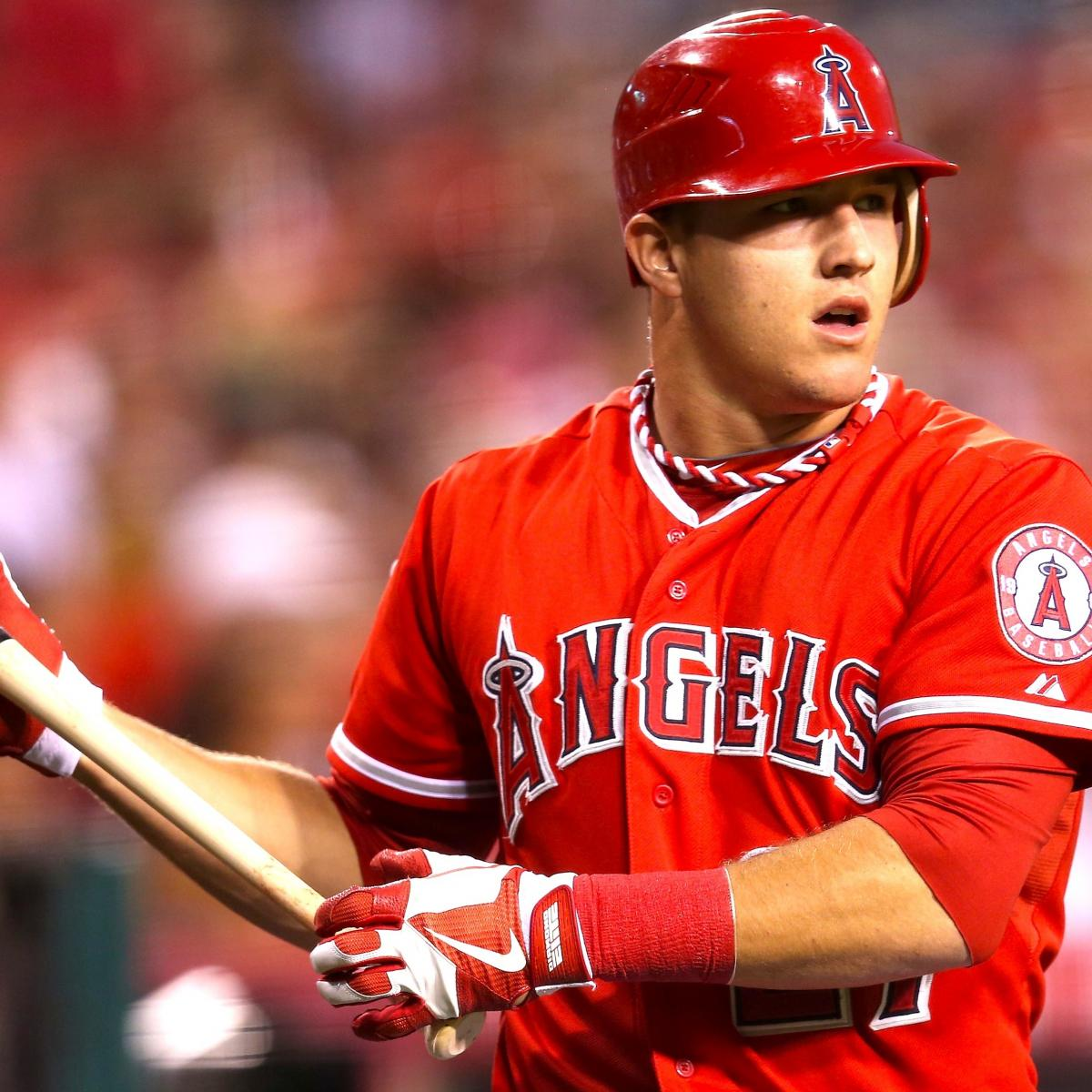 How Mike Trout's 10-15 Pound Weight Increase Could Impact ...