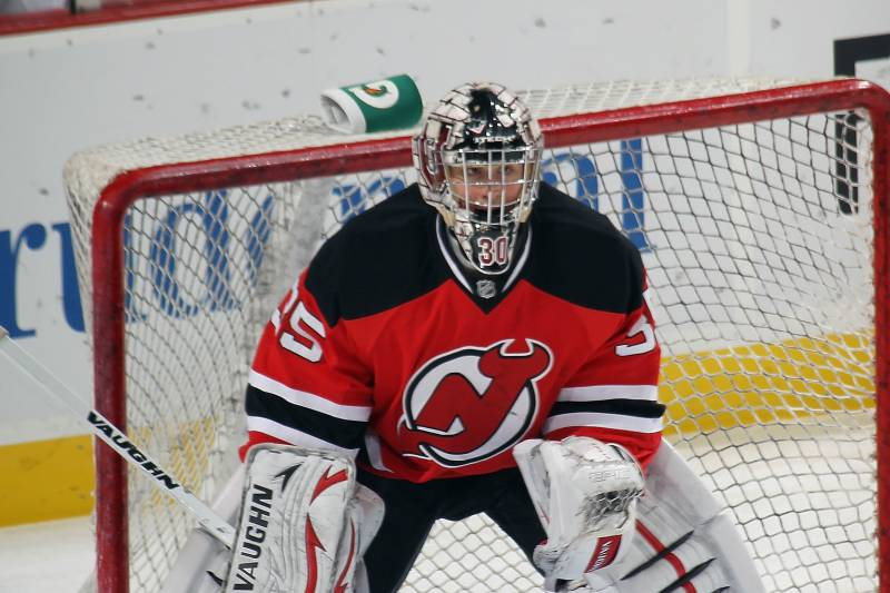 purchase cheap 8092f bf0b2 Has Keith Kinkaid Officially Become the New Jersey Devils ...