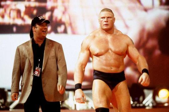 Image result for brock lesnar first wwe match