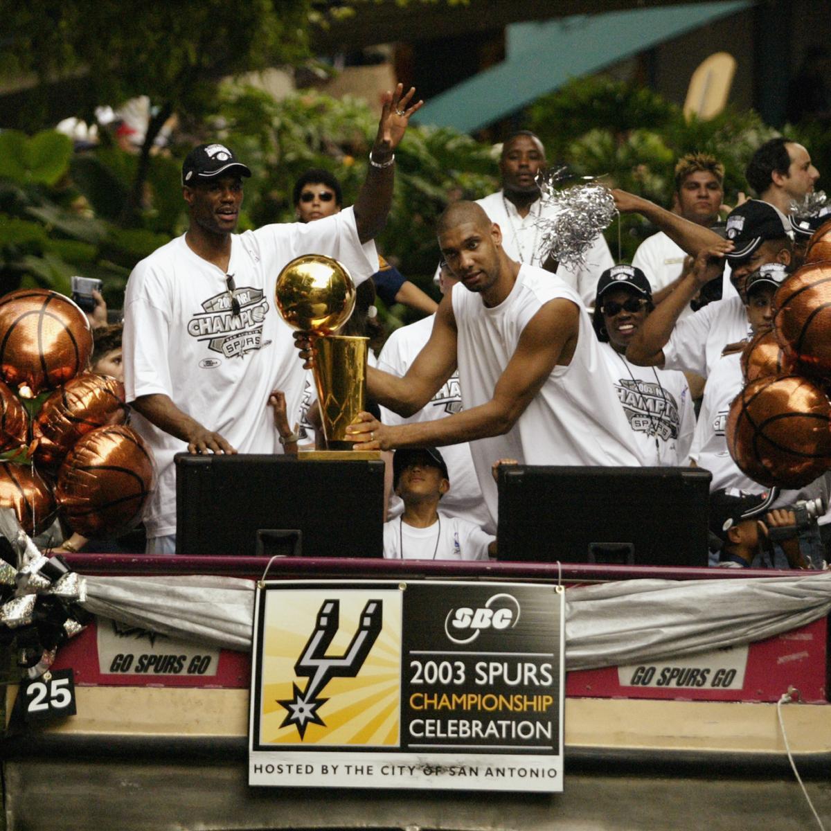 Spurs First Team Players Squad: San Antonio Spurs' All-Time Dream Team