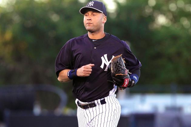 timeless design fe35a bee57 Derek Jeter Misses Yankees Spring Training Games Due to ...