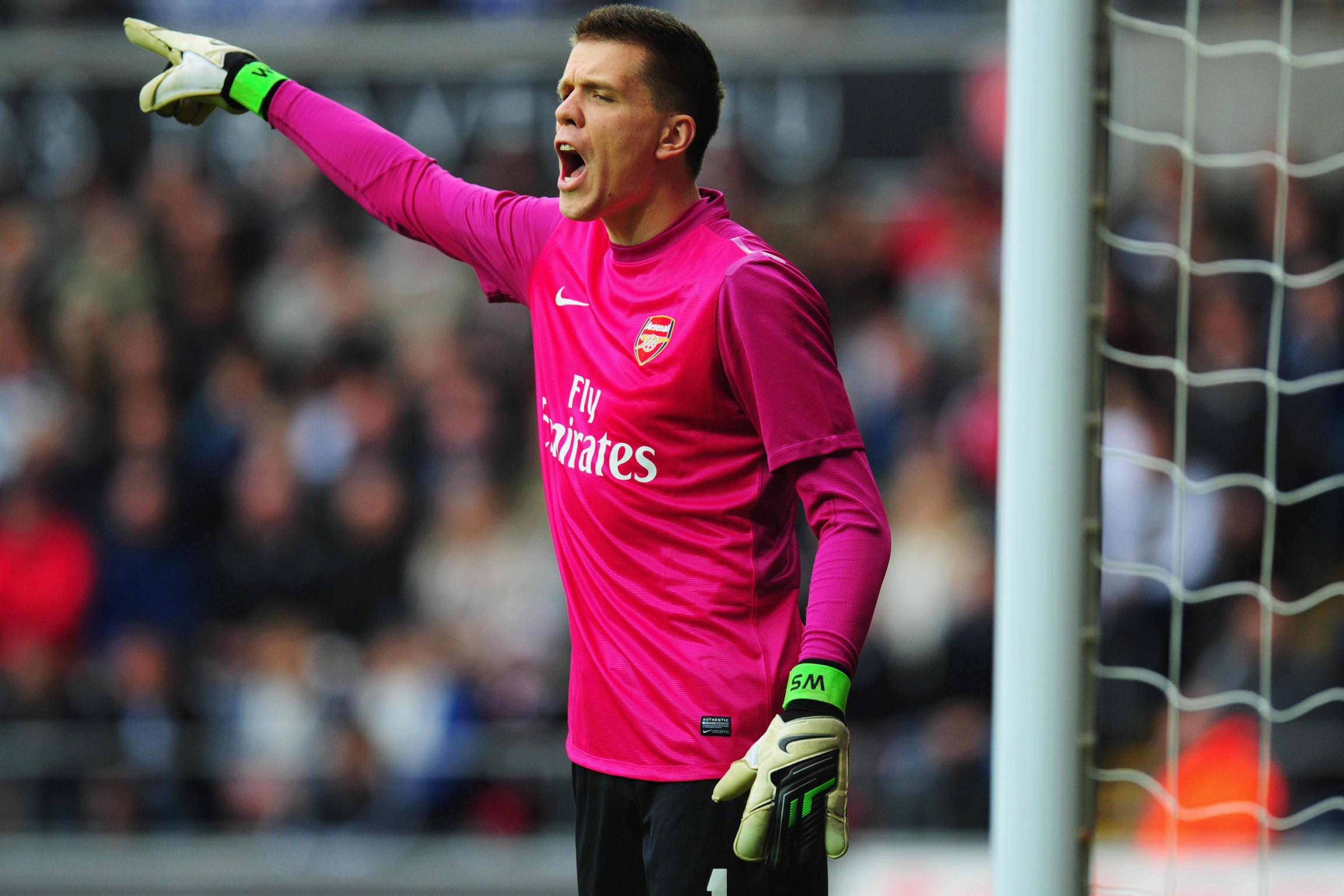 Szczęsny at Arsenal