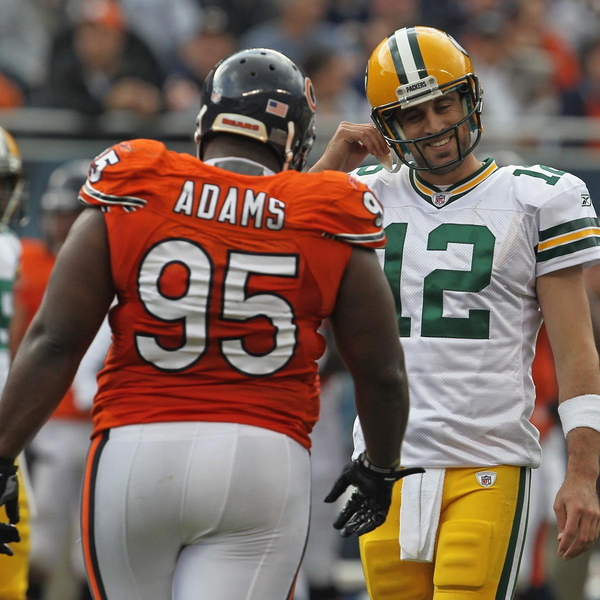Chicago Bears DT Anthony Adams Wins at Retiring with a Hilarious