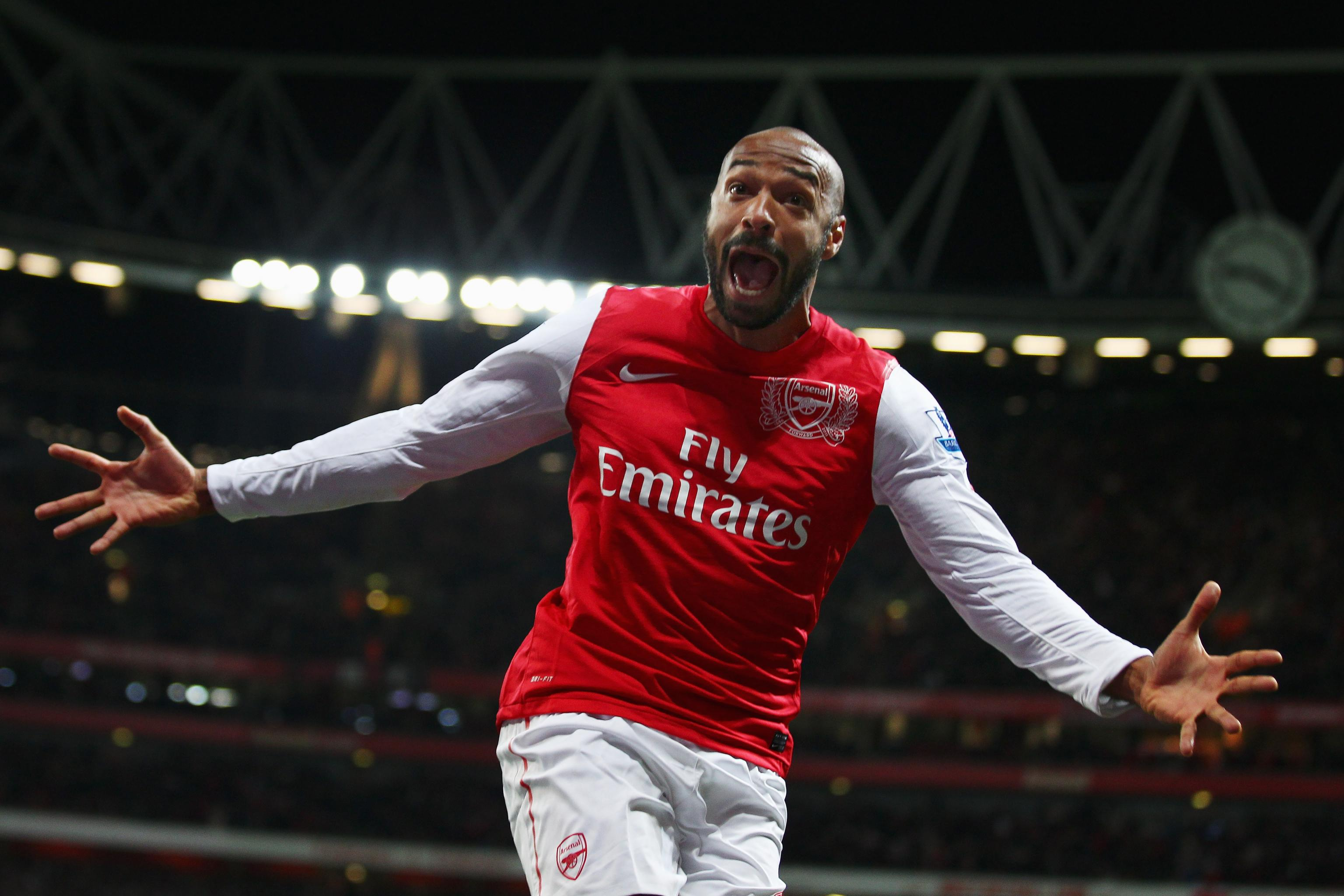super popular c8c05 f8b9a Why Thierry Henry Is the Most Famous Arsenal Player of All ...