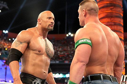 The Cena-Rock Feud