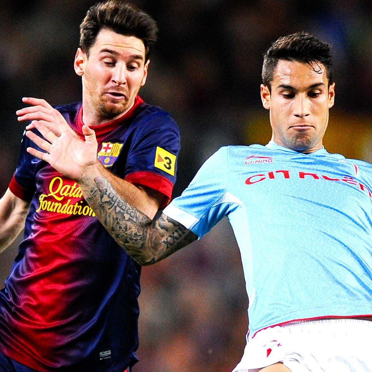 Celta Vigo Vs. Barcelona: La Liga Live Score, Highlights