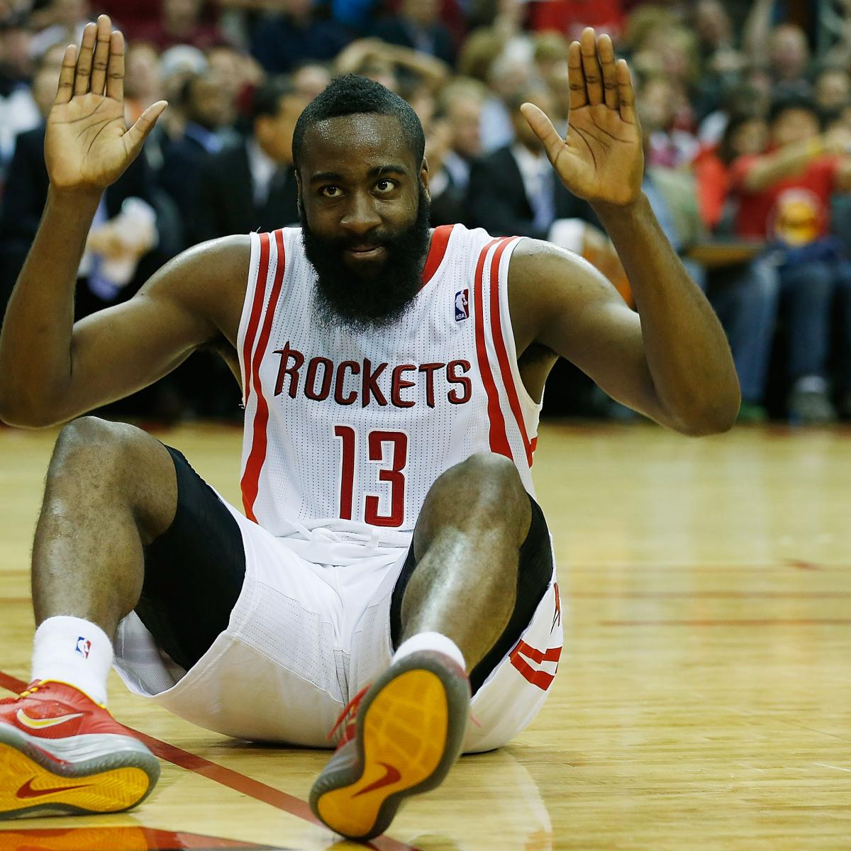 James Harden Injury Report: James Harden Injury: Updates On Rockets Star's Foot