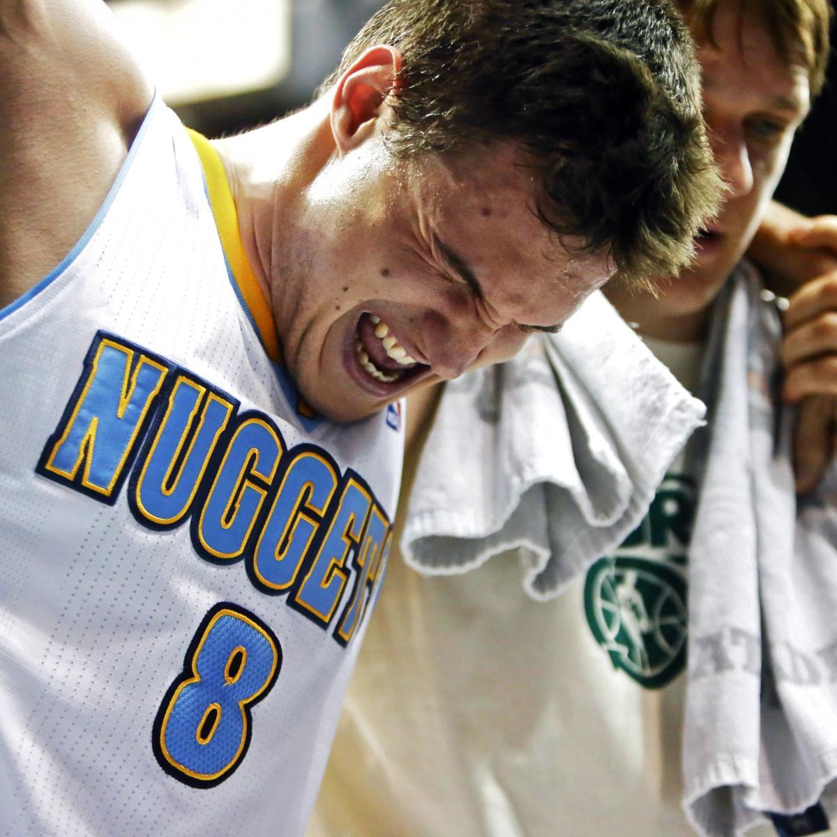 Nuggets Quarter Season Tickets: Danilo Gallinari Injury: Updates On Nuggets Swingman's
