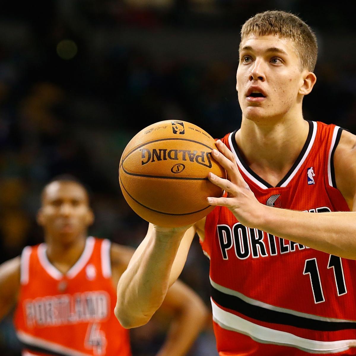 Portland Trail Blazers Injury News: Portland Trail Blazers: Is Meyers Leonard The Future At