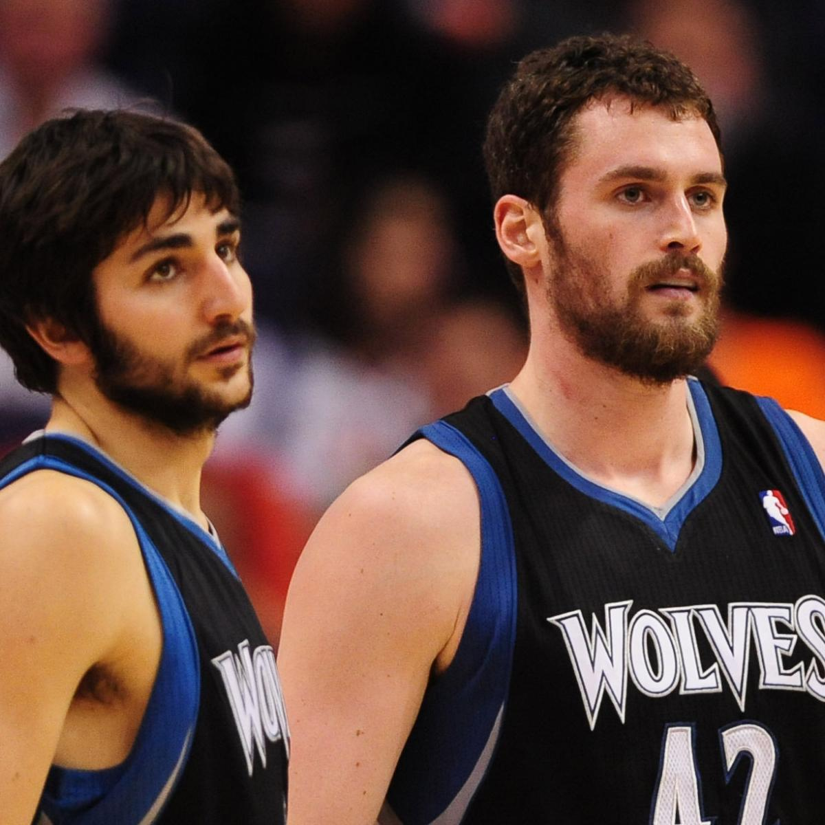 Is Ricky Rubio Better Building Block Than Kevin Love For