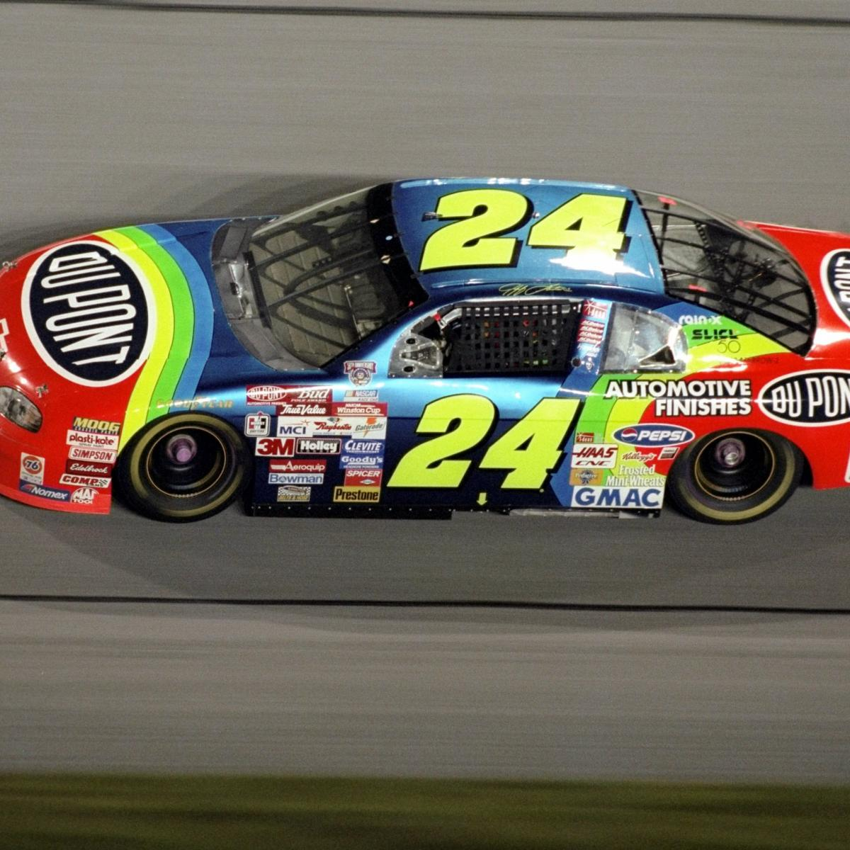 The 10 Best Looking Stock Cars in NASCAR History | Bleacher Report
